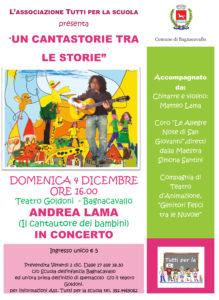 Concerrto Andrea Lama Teatro Goldoni Bagnacavallo 4 dicembre 2016