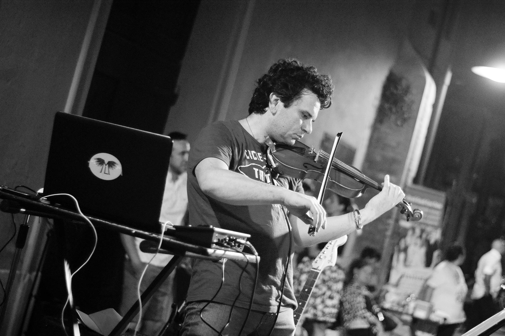 Matteo Lama violinista e compositore di musica